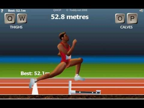 How to Win QWOP by Running