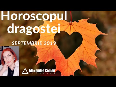 Horoscopul dragostei - Septembrie 2019