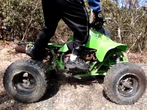 2002 KAWASAKI MOJAVE 250 PARTS ATV - 4 SALE ON 3/6/2012 - YouTube