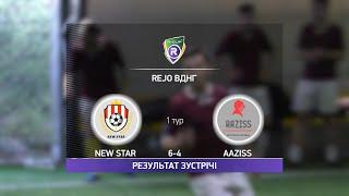 Обзор матча New Star Aaziss Турнир по мини футболу в Киеве