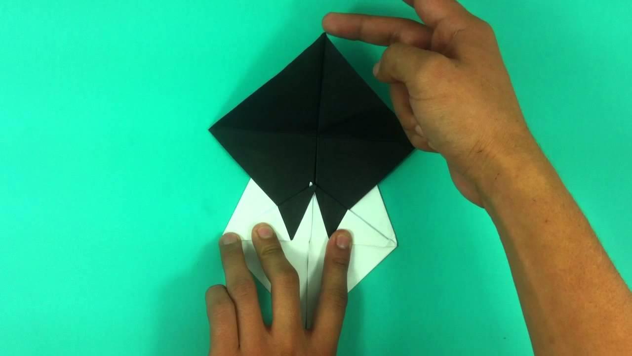 Hacer un oso panda de origami  Osito de papel  YouTube