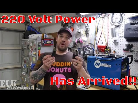 How to Install 220 Volt in Your Garage