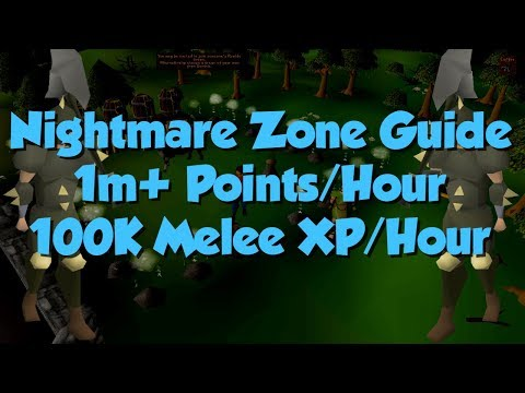 [OSRS] Melee Nightmare Zone Guide | 1M+ Points/Hour 100K+ EXP/Hour