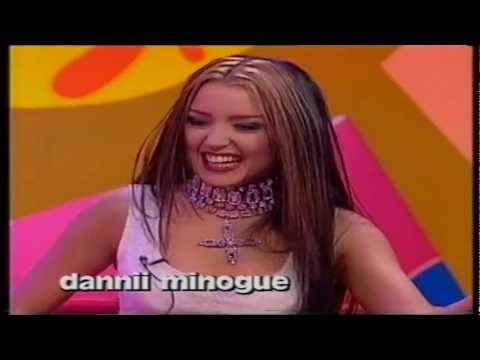 Danni Minogue attacks Mark Lamarr on the word + Pamela Anderson clip