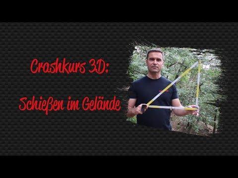 Bogenschießen im Gelände - Crashkurs 3D