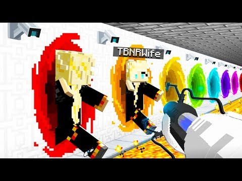 How To Craft A GOD Portal Gun! - Minecraft 1.14 Crafting Recipe