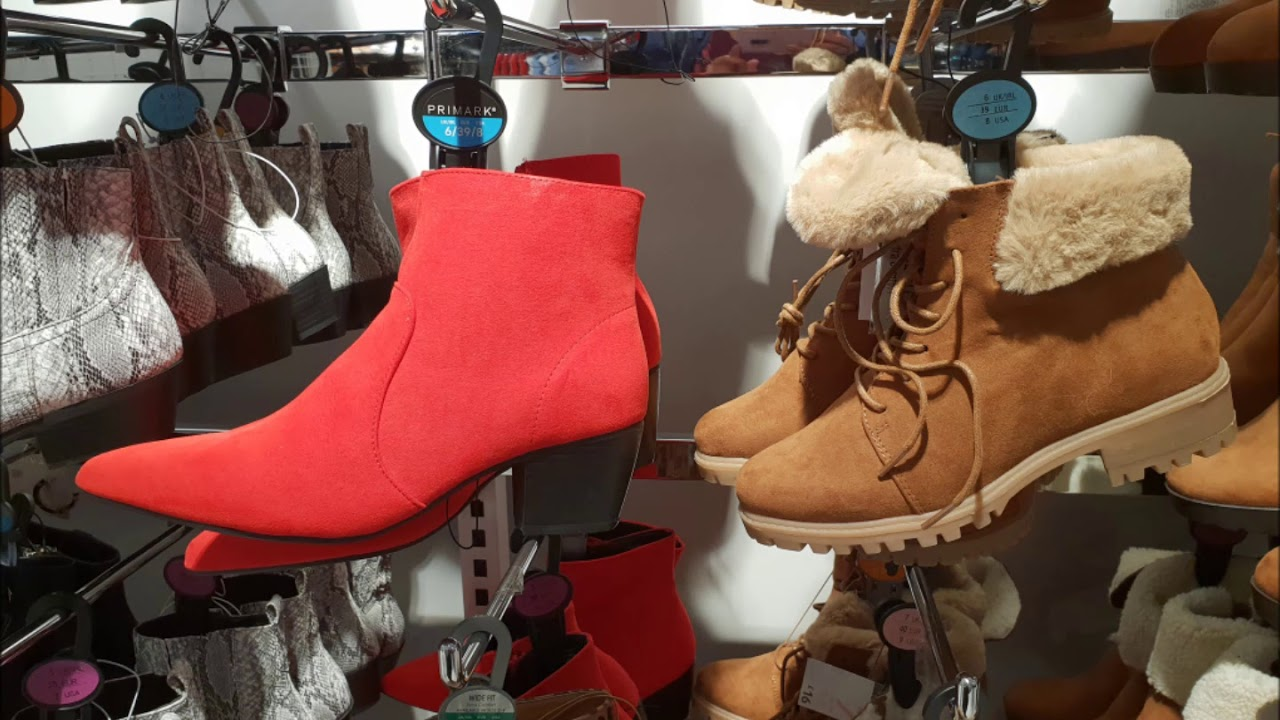 Primark Shoes Boots January 2019 I Primark Youtube