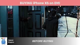 Buying iPhone X on EMI