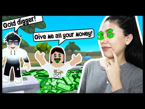 I EXPOSED MYSELF AS A GOLD DIGGER! - Roblox Roleplay - Treasure Hunt Simulator