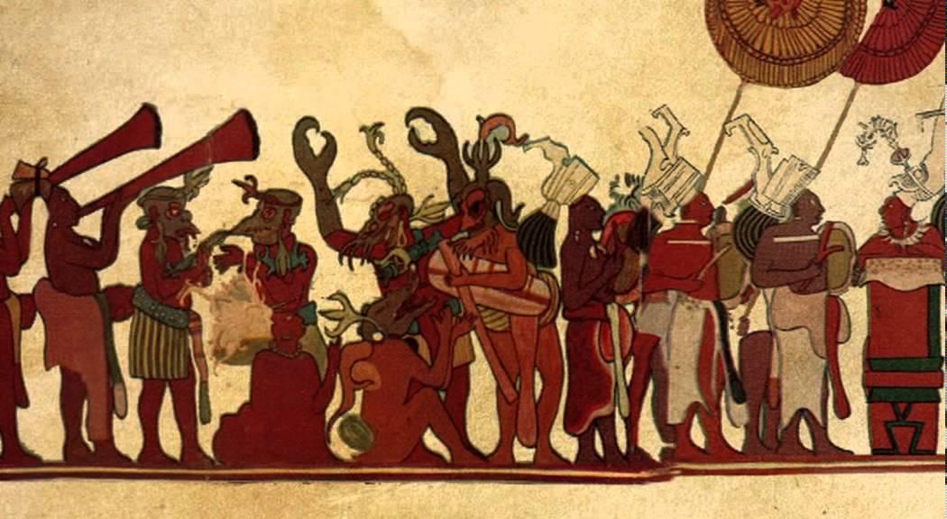 Los murales de bonampak cultura maya youtube for Bonampak cuarto 2