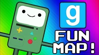 Gmod Adventure Map - 6 Challenges (...