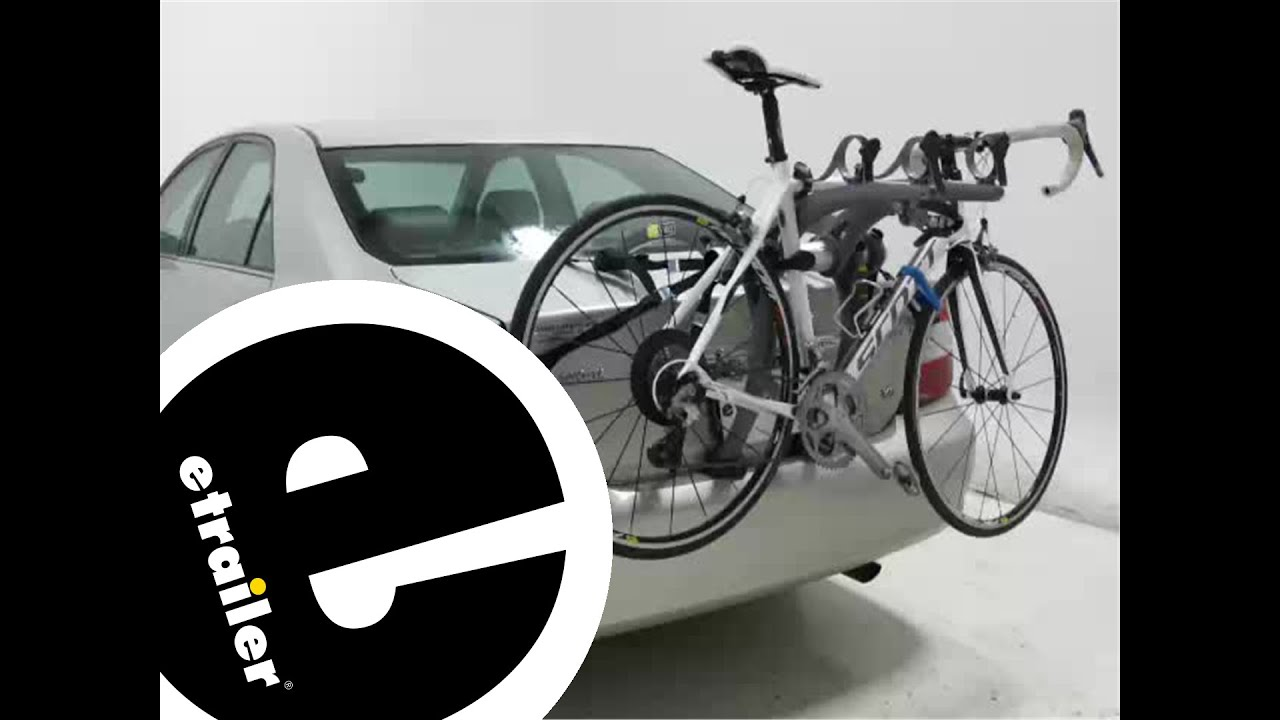 Trunk Mount Bike Rack >> etrailer | Saris Bones Trunk Mount 3 Bike Rack Review - YouTube