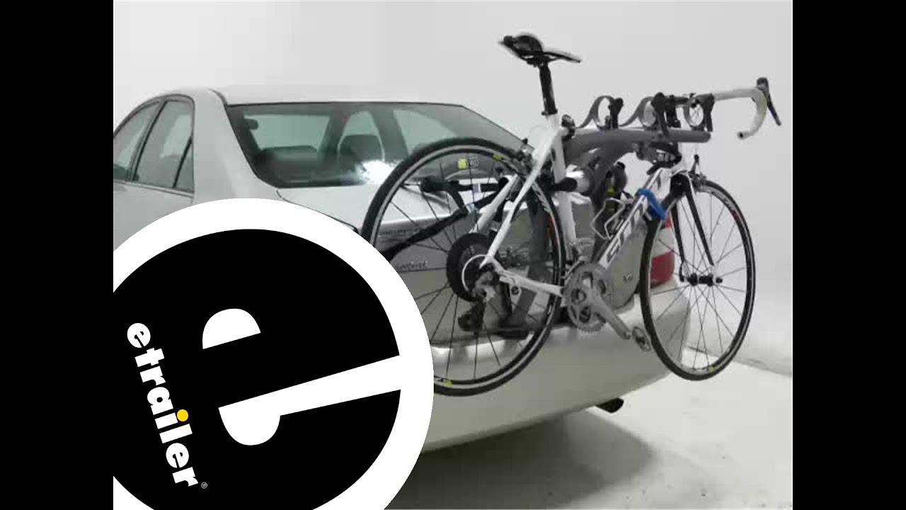 Review Of The Saris Bones Trunk Mount 3 Bike Rack   Etrailer.com   YouTube