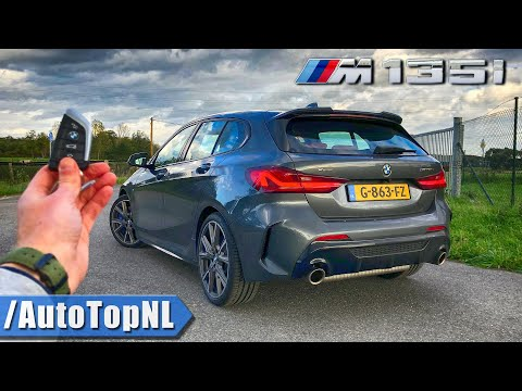 2020 BMW 1 Series M135i XDrive REVIEW POV On AUTOBAHN (NO SPEED LIMIT) & ROAD By AutoTopNL