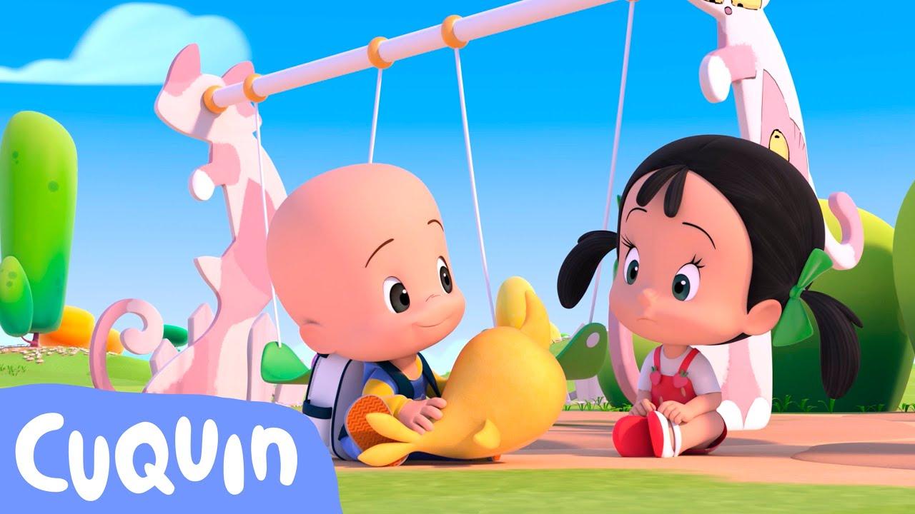 Vamos para a escola 📚   Desenhos animados para bebês