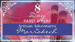 8-Day Paint & Play Artisan Adventures to Marrakech Thumbnail