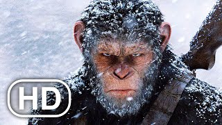PLANET OF THE APES LAST FRONTIER Full Movie Cinematic (2021) All Cinematics 4K ULTRA HD Action