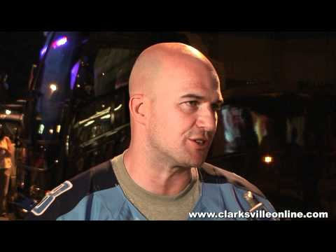 2012 Titans Caravan visit to Clarksville, TN