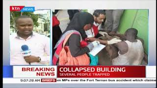 BREAKING NEWS : 8-story building collapses in Malindi