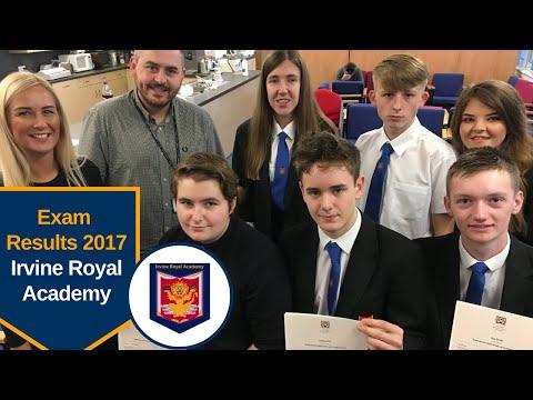 Exam Results 2017: Irvine Royal Academy