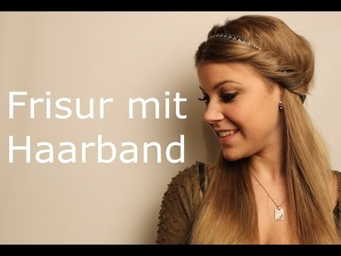 Wickel frisur mit haarband