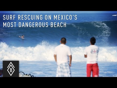 Surf Rescue on Mexico's Most Dangerous Beach: Playa Zicatela in Puerto Escondido