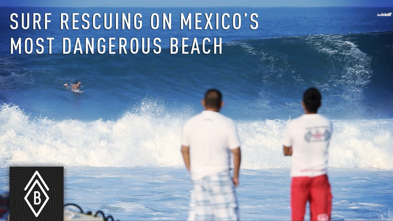 Surf Rescue On Mexico S Most Dangerous Beach Playa Zicatela In Puerto Escondido You