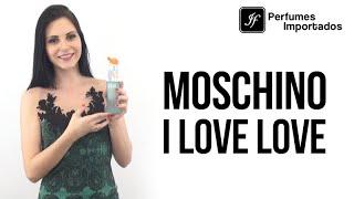 Perfume Moschino I Love Love Feminino - Eau de Toilette