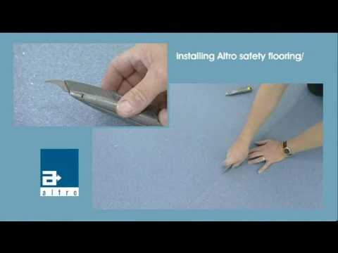 How to fit safety flooring