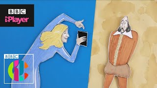 J. K. Rowling vs Shakespeare rap battle   CBBC