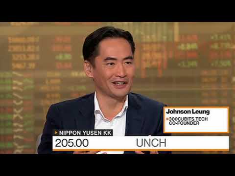TEU Tokens - Bloomberg interview with Johnson Leung