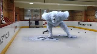 아이스하키 원포인트 레슨(장애물통과) Ice hocke…