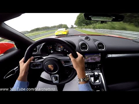 Racing a Porsche to the Limit at the Nrburgring + GoPro FAIL