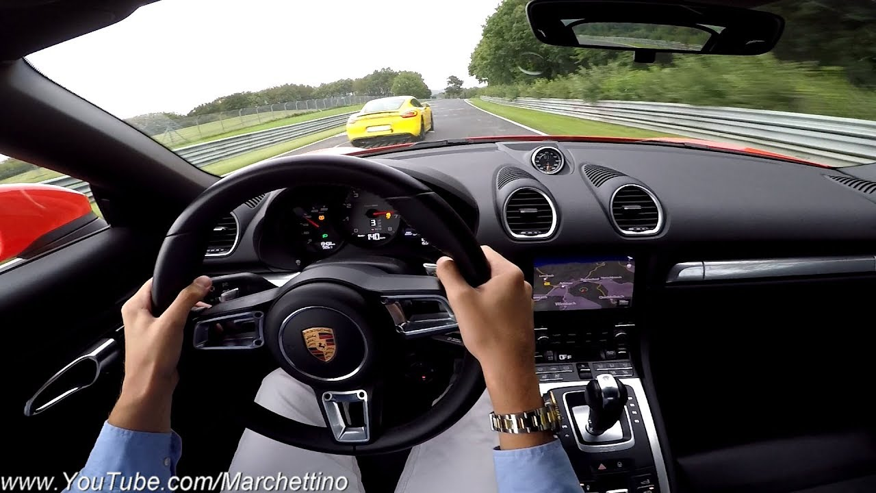 Racing A Porsche To The Limit At The Nurburgring Gopro Fail