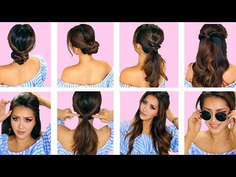 ★TOP 5 💗  LAZY EVERYDAY HAIRSTYLES with PUFF 💗  QUICK & EASY