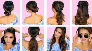 ★TOP 5 💗  LAZY EVERYDAY HAIRSTYLES with PUFF 💗  QUICK & EASY BRAIDS & UPDO for Long 💗 Medium HAIR