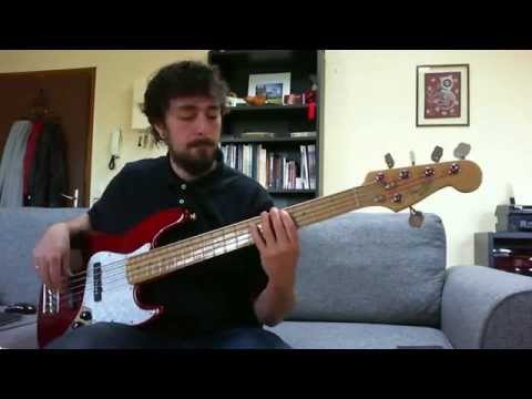 Michael Jackson - Burn This Disco Out bass cover