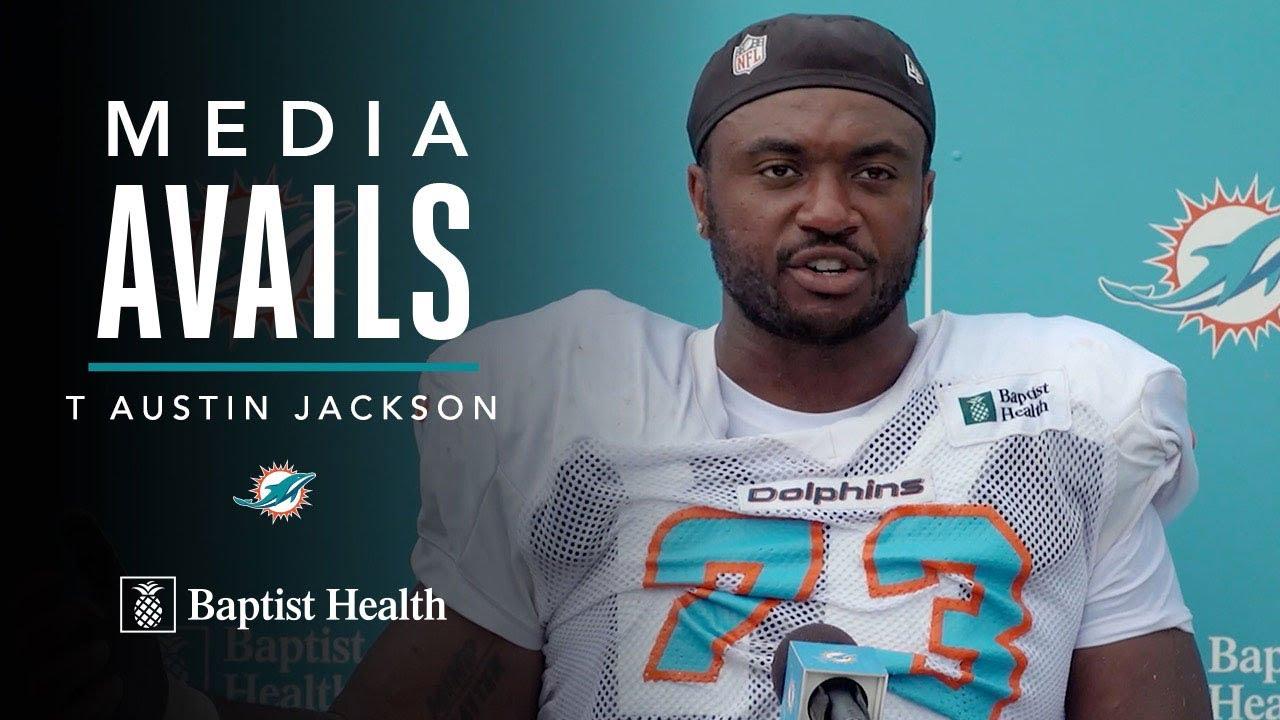 Austin Jackson Post-Practice Press Conference   Miami Dolphins