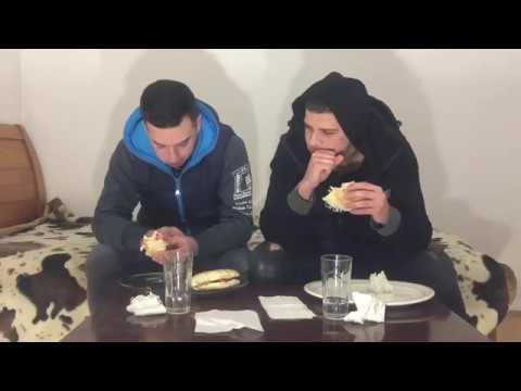 ALBANIAN CHALLENGE ME DÖNERA +DENIM ( kush ika nervat e liga mos ta kqyr perfundon keq) | ARIZONRR