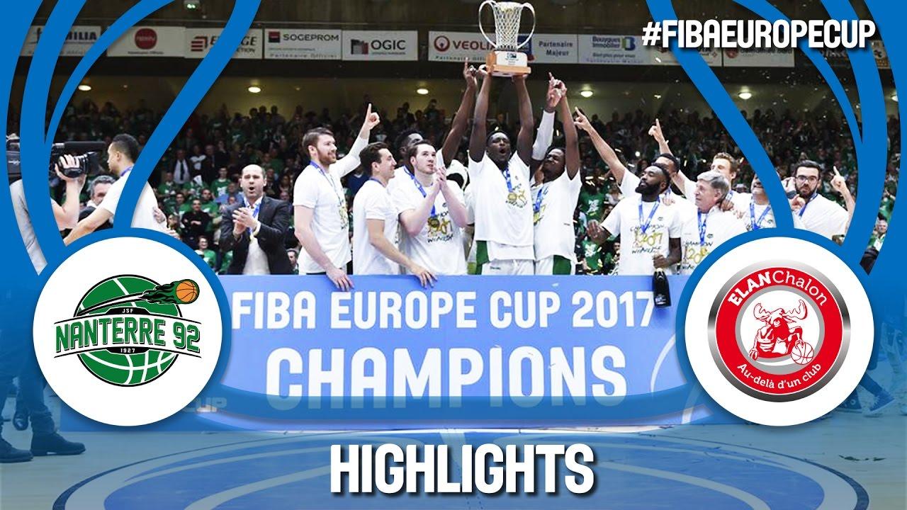 Highlights  Final - Game Day 2: Nanterre 92 v Elan Chalon