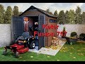 Keter Fusion 757 Outdoor Garden Storage Shed