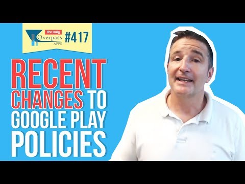 Recent Changes to Google Play Policies and Repetitive Content