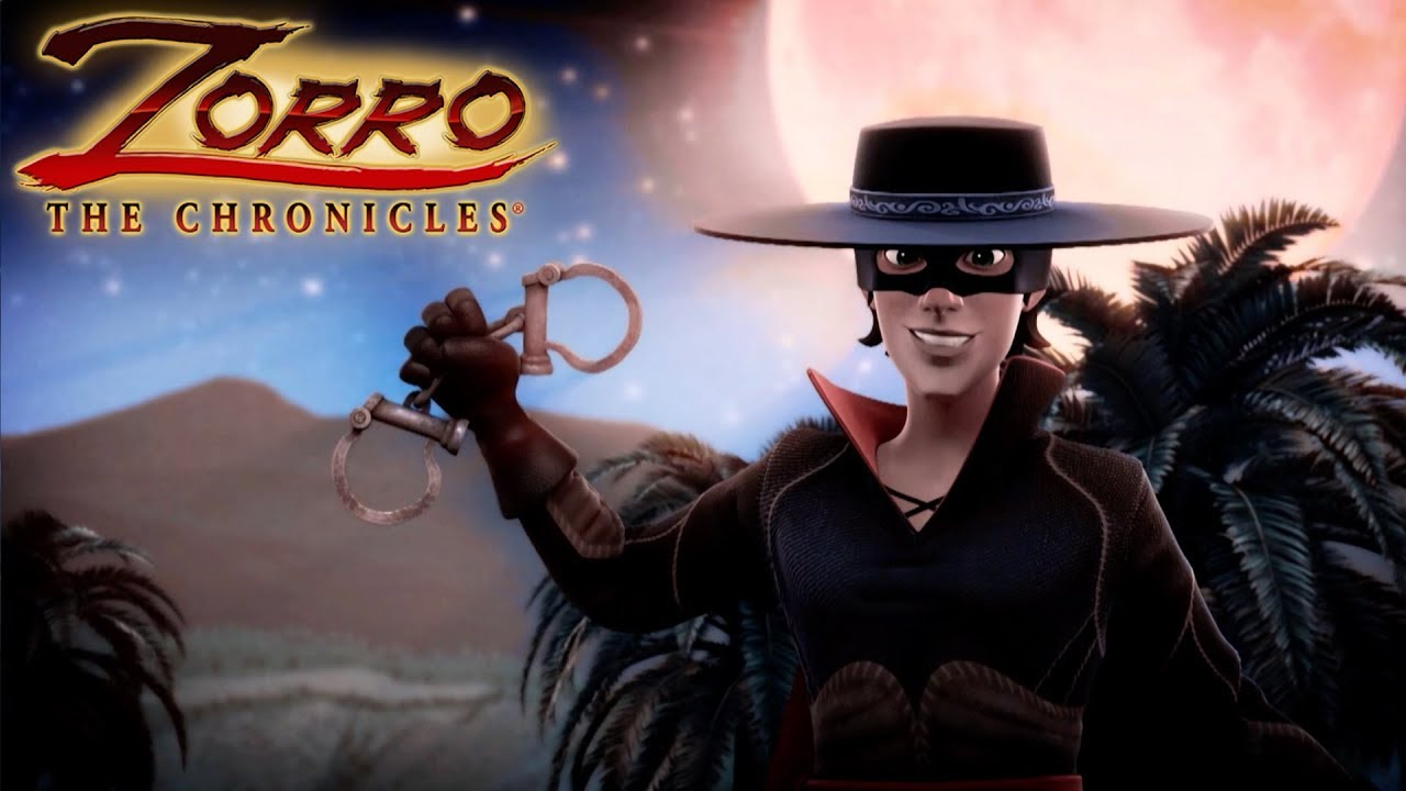 Zorro la leggenda episodio il ritorno cartoni di
