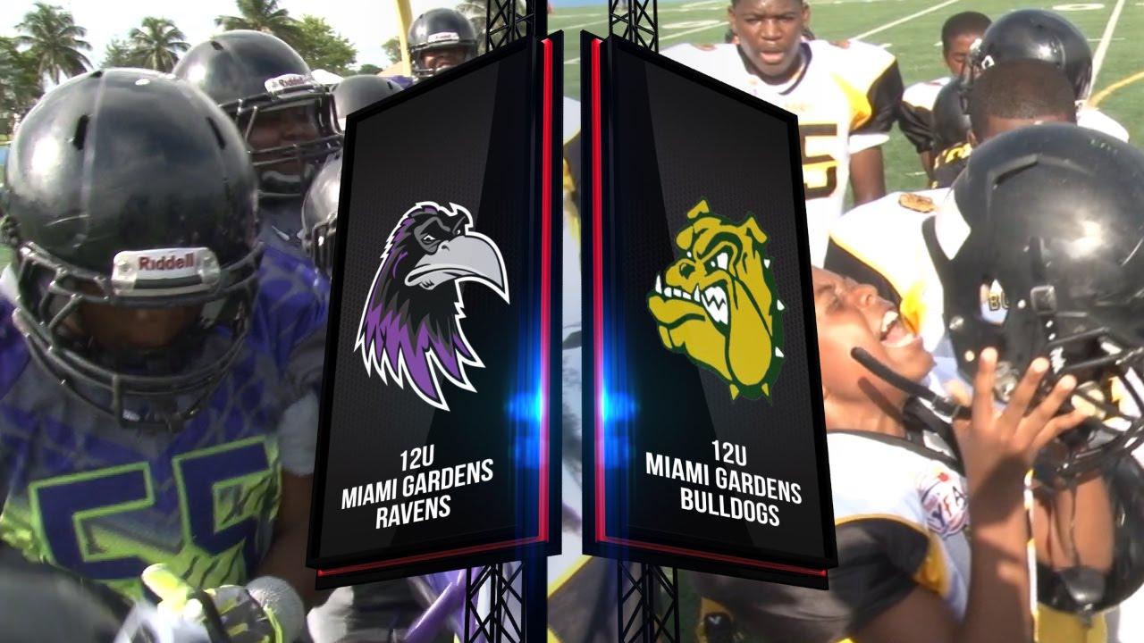 Miami Gardens Ravens Vs Miami Gardens Bulldogs 12u Youtube