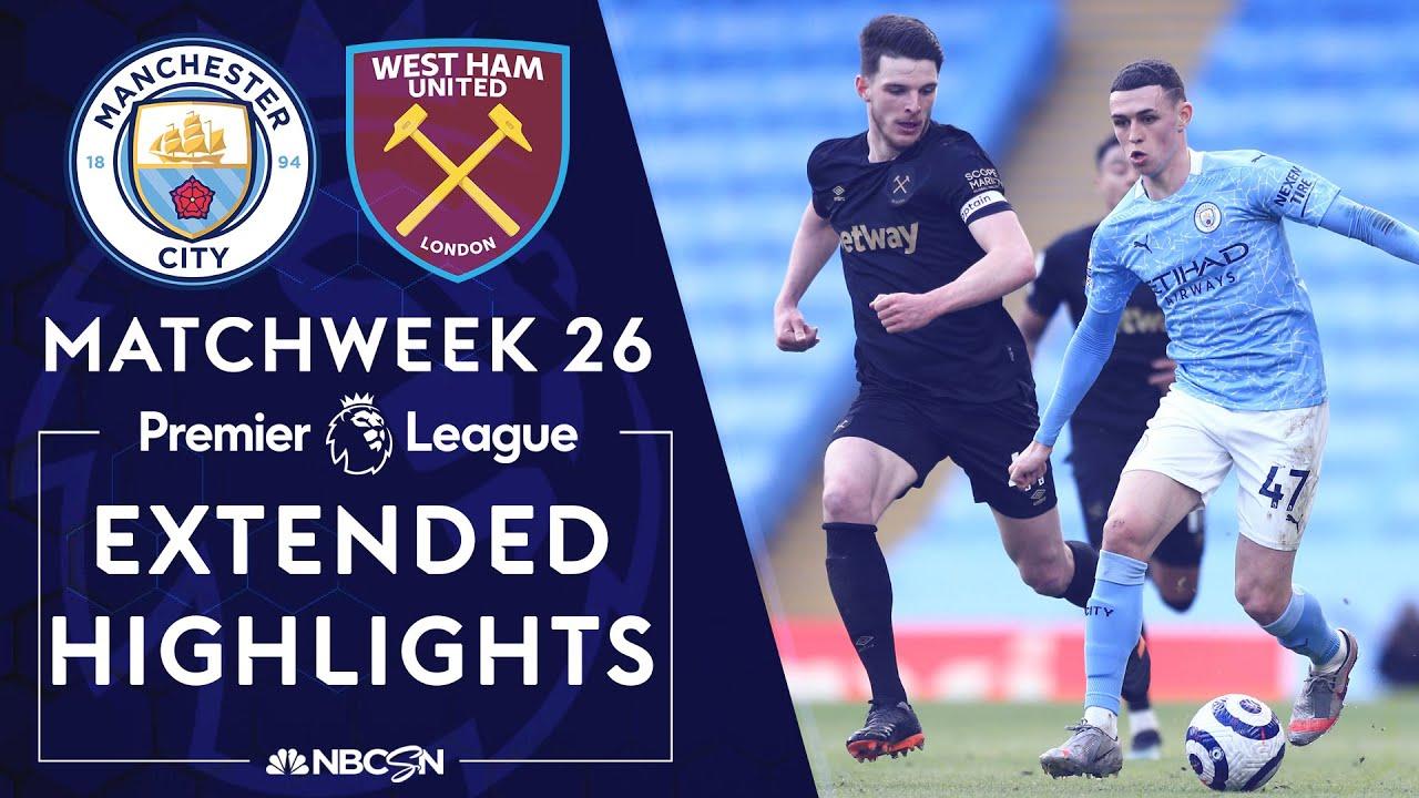 Download Manchester City v. West Ham | PREMIER LEAGUE HIGHLIGHTS | 2/27/2021 | NBC Sports