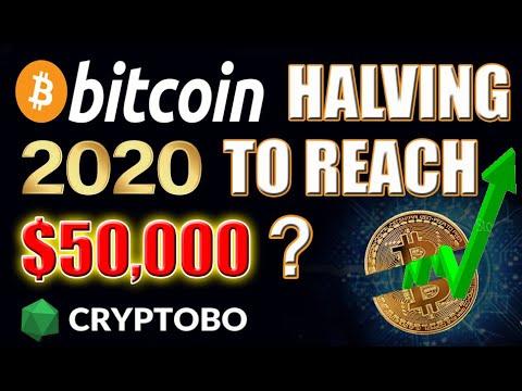 Bitcoin To Reach $50,000 In 2020? Bitcoin Halving Be Prepared!
