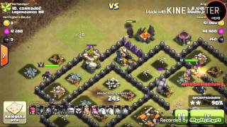 Let's play Clash of clans Kriegsreport 4