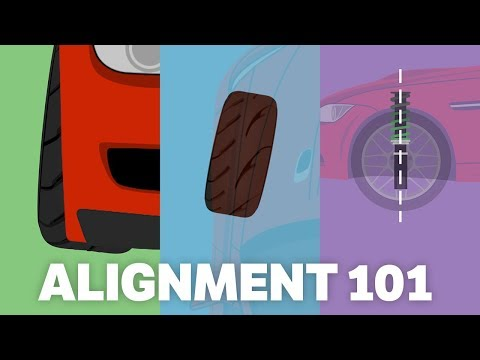 Alignment 101 - Camber, Toe, and Caster