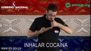 INHALAR COCAÍNA