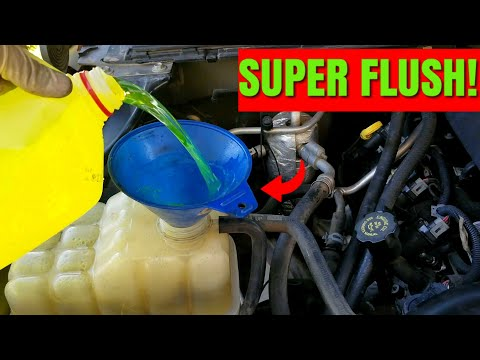 How To Flush Your Coolant System! | Chevy Silverado Coolant Change Drain & Fill